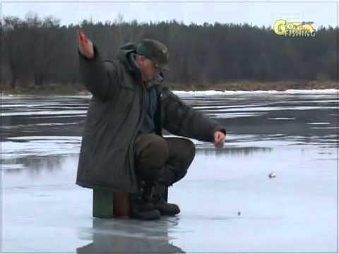 Ловля щуки зимой.